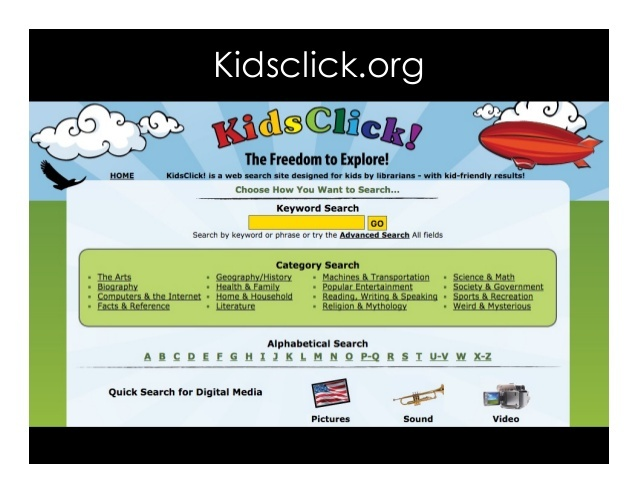 KidsClick: Search Engine for Kids