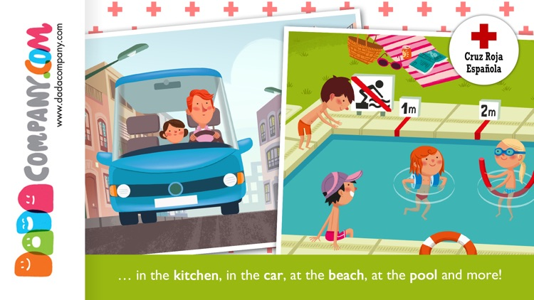 RED CROSS: Kids Safety App